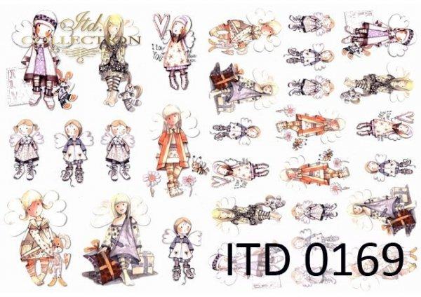 Papier decoupage ITD D0169