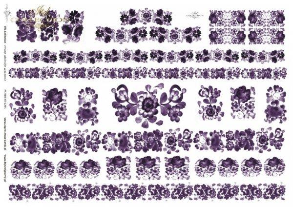 Papier decoupage ITD D0295