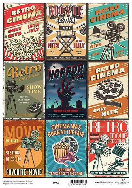 retro plakaty kinowe*retro cinema posters*carteles de cine retro*Retro-Kino-Plakate