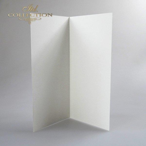 Baza do kartki BDK-007 210x100 mm * Kremowa-opalizująca