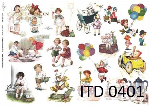 Papier decoupage ITD D0401