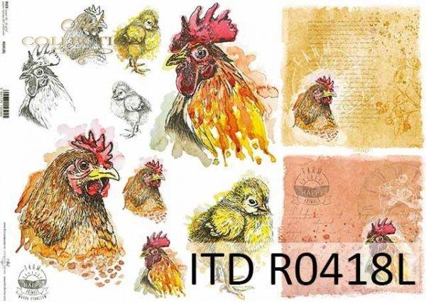 Papier ryżowy ITD R0418L