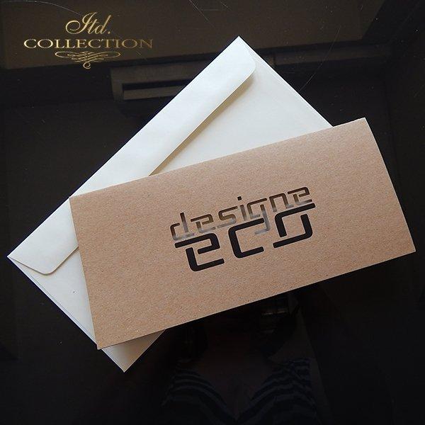 Zaproszenie biznesowe ZB1049 z kopertą
