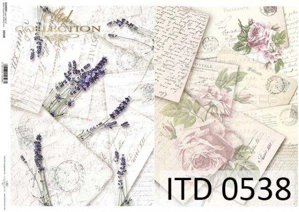 Papier decoupage ITD D0538