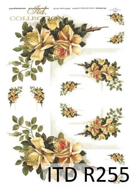 róża, róże, kwiaty, herbaciane róże, styl retro, R255