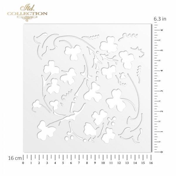 ST0020 - kwiaty, koniczyna