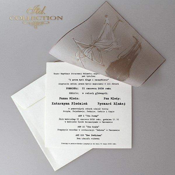 Zaproszenia ślubne / zaproszenie 2045
