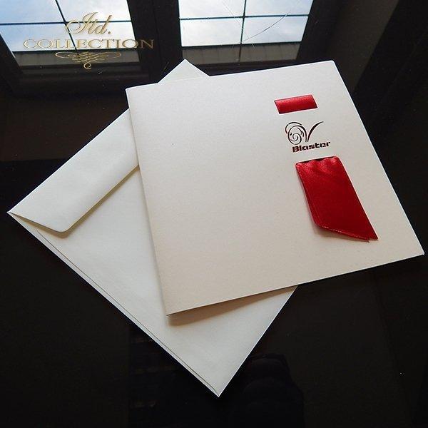 Zaproszenie biznesowe ZB1033 z kopertą