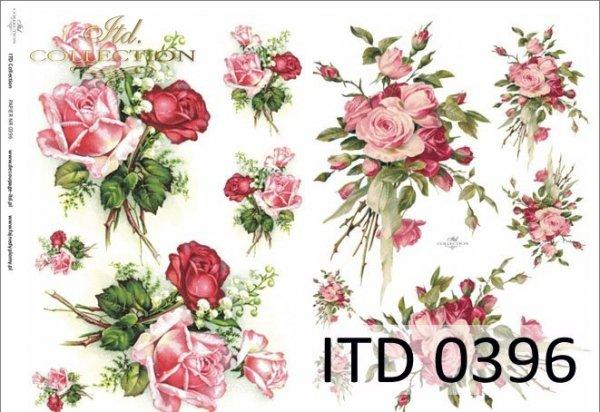 Papier decoupage ITD D0396M