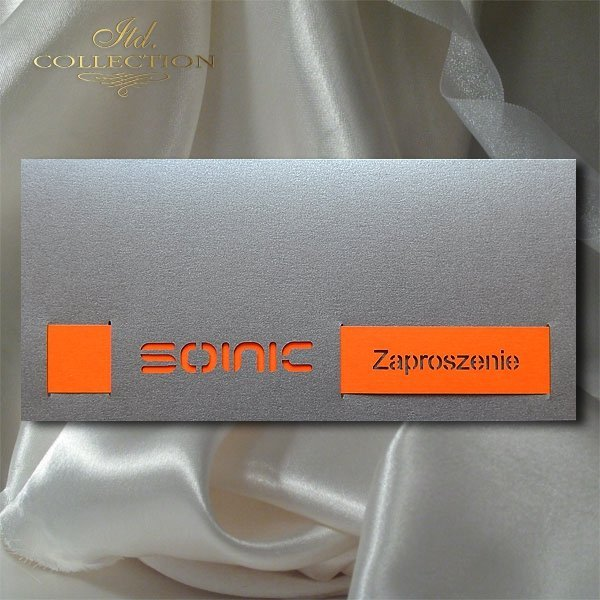 Zaproszenie biznesowe ZB1014 z kopertą