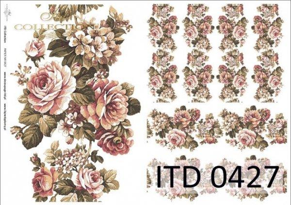 Papier decoupage ITD D0427