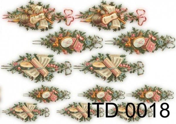 Papier decoupage ITD D0018