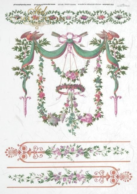 flower, flowers, decoration, decorations,  ornament, ornaments, retro, vintage, R020