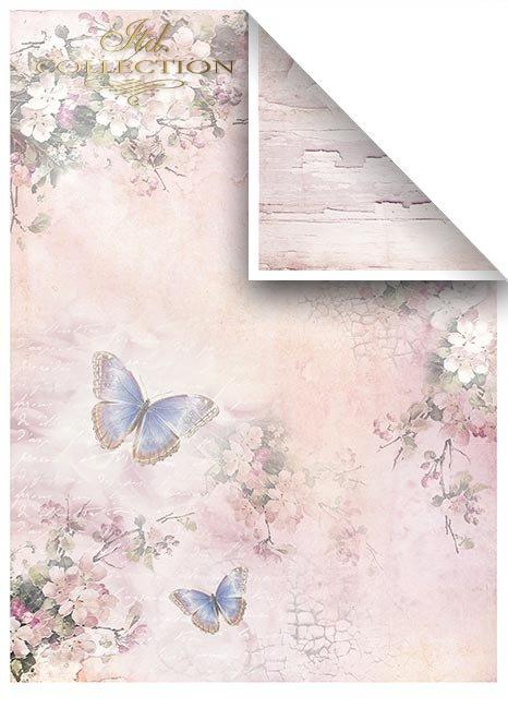 Zestawy-papierow-do-scrapbookingu-zestaw-Lato-w-rozach-SCRAP-045-10-ptaszki-motylki-kwiatki-kwiatuszki-mediowe-struktury-tla-struktury-farb-desek-spekaliny-crak