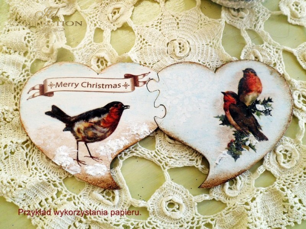 ITD Collection, decoupage, scrapbooking, winter-bird-birds - example 1