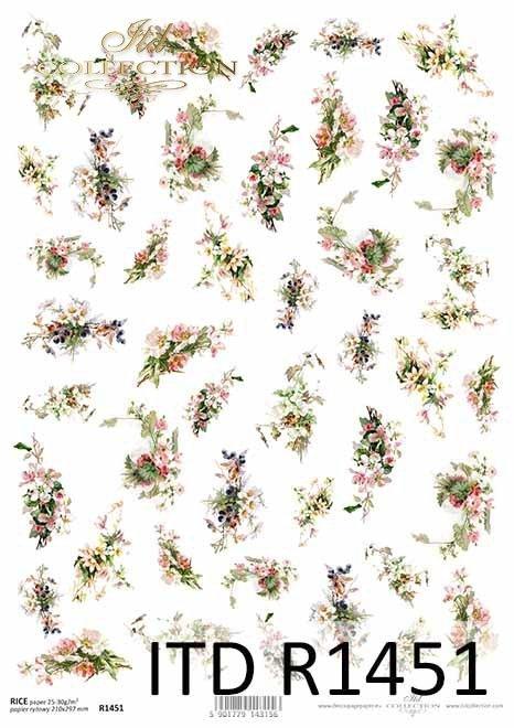 kwiaty, margerytki, prymulki, drobne elementy*flowers, daisies, primulas, small elements