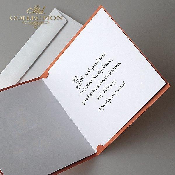 Kartka wielkanocna KW216