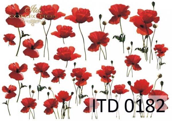 Papier decoupage ITD D0182