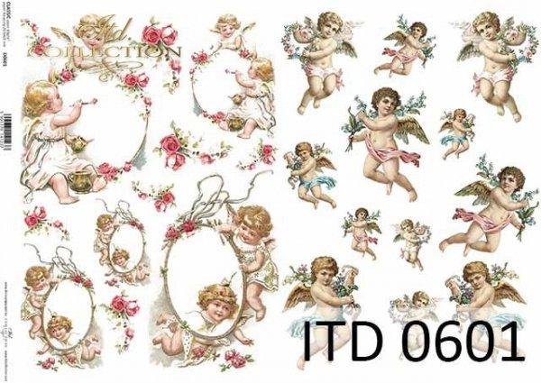 Papier decoupage ITD D0601
