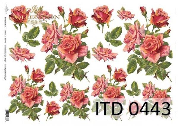 Papier decoupage ITD D0443M