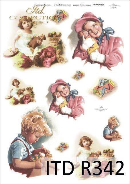 dzieci, zabawa, zabawy, zabawki, misie, lalki, R342