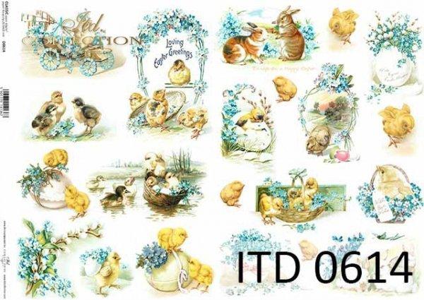 Papier decoupage ITD D0614