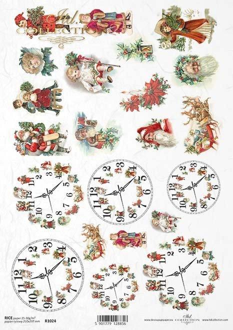 paper decoupage Christmas*papel decoupage Navidad*Papír decoupage Vánoce*Papier decoupage Weihnachten
