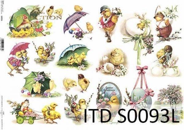 Papier decoupage SOFT ITD S0093L