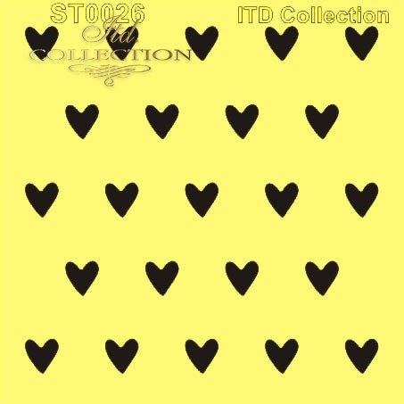 ST0026 - duże serduszka, serca