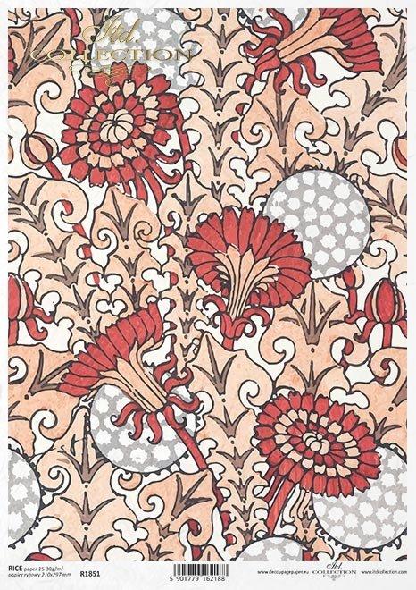 motyw tapetowy, tło, tapeta, art deco*wallpaper motif, background, wallpaper, art deco*Tapetenmotiv, Hintergrund, Tapete, Art Deco