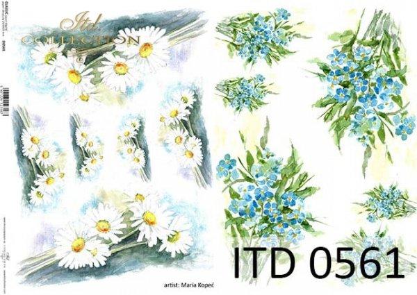Papier decoupage ITD D0561