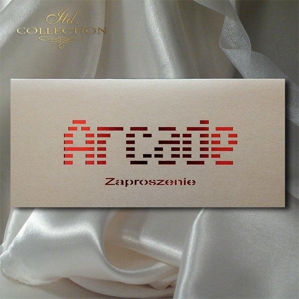 Zaproszenie biznesowe ZB1045 z kopertą