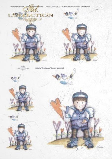 papier-ryżowy-decoupage-anioł-aniołek-serce-latawiec-ptaszek-Dorota-Marciniak-R0156