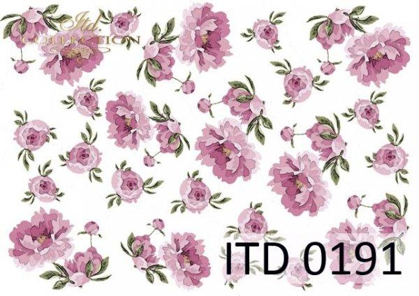 Papier decoupage ITD D0191M