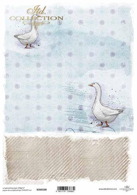 Scrapbooking Papier Ostern*Papel de scrapbooking de Pascua*Пасхальная скрапбукирующая бумага