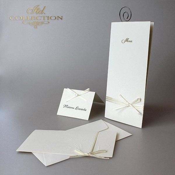 Zaproszenia ślubne / zaproszenie 2047