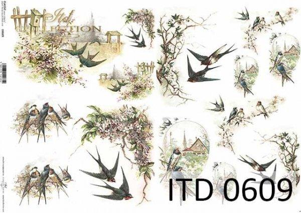 Papier decoupage ITD D0609