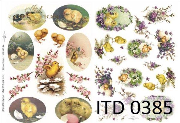 Papier decoupage ITD D0385