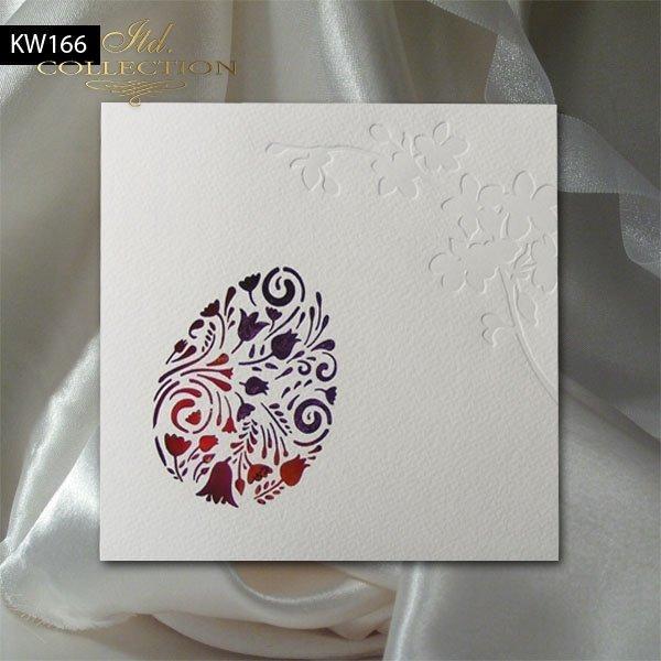 Kartka wielkanocna KW166