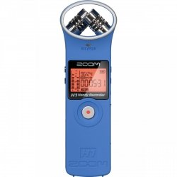 Zoom H1 Blue - rejestrator audio + karta 2GB