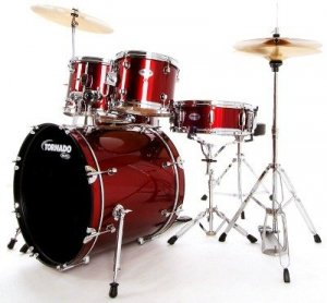 Mapex Tornado Fusion Red Wine