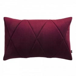 Touch poduszka dekoracyjna bordowa 60x40 MOODI