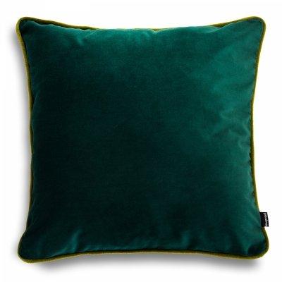 DUO ciemno zielona poduszka dekoracyjna 40x40