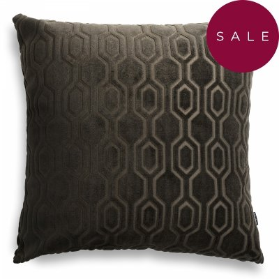 Honey brązowa poduszka dekoracyjna 50x50
