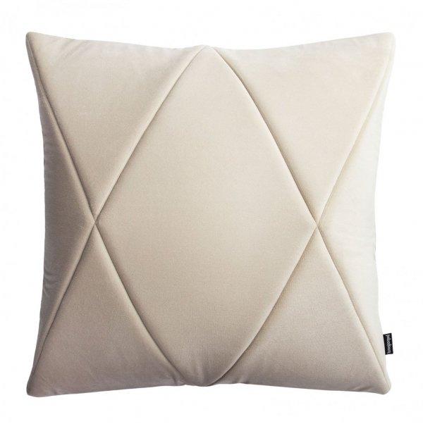 Touch poduszka dekoracyjna kremowa 45x45 MOODI