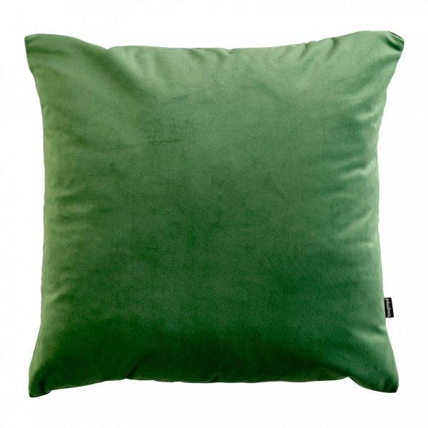 Velvet jasno zielona poduszka dekoracyjna 45x45