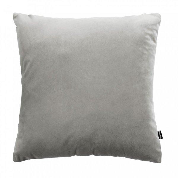 Velvet szara poduszka dekoracyjna