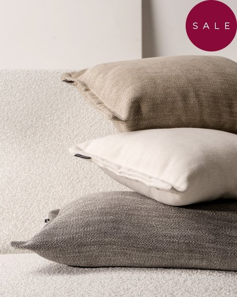 Fitto poduszka dekoracyjna 50x30 cm. beżowa