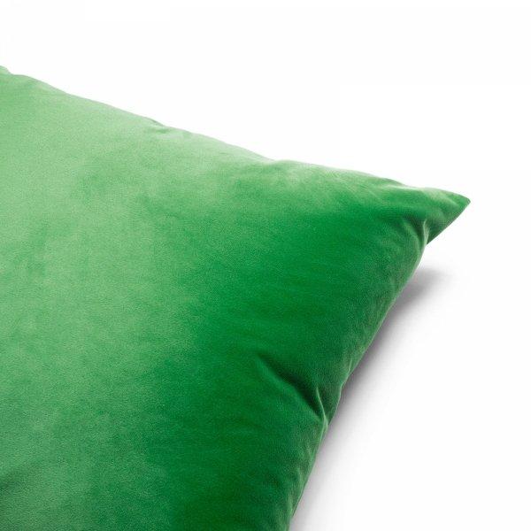 Velvet jasno zielona poduszka dekoracyjna 50x30