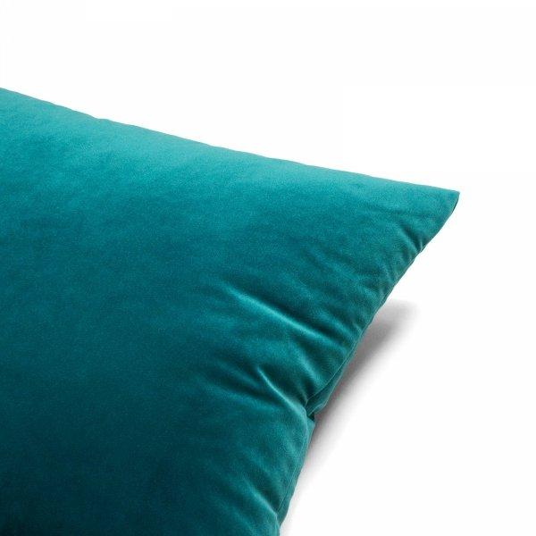 Velvet morska poduszka dekoracyjna 50x30